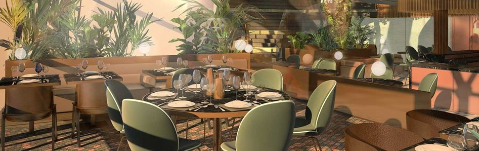 Eden Restaurant on Celebrity Edge