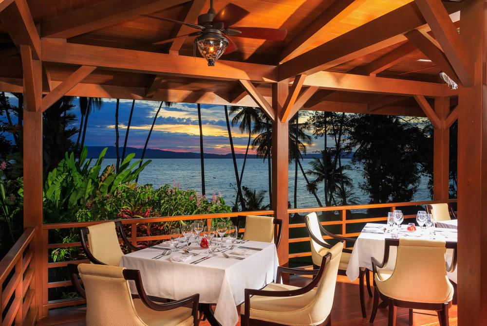 El Gavilan Restaurant, Playa Cativo, Costa Rica
