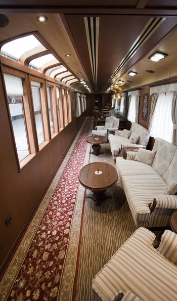 Panoramic lounge, El Transcantábrico Gran Lujo