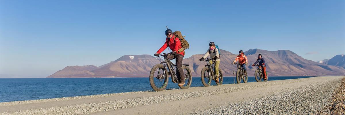 Electric fatbike adventure, Hurtigruten