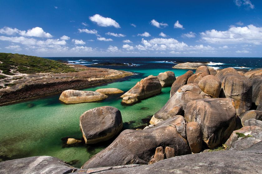 Elephant Rocks, William Bay National Park, South West Coast, Australia