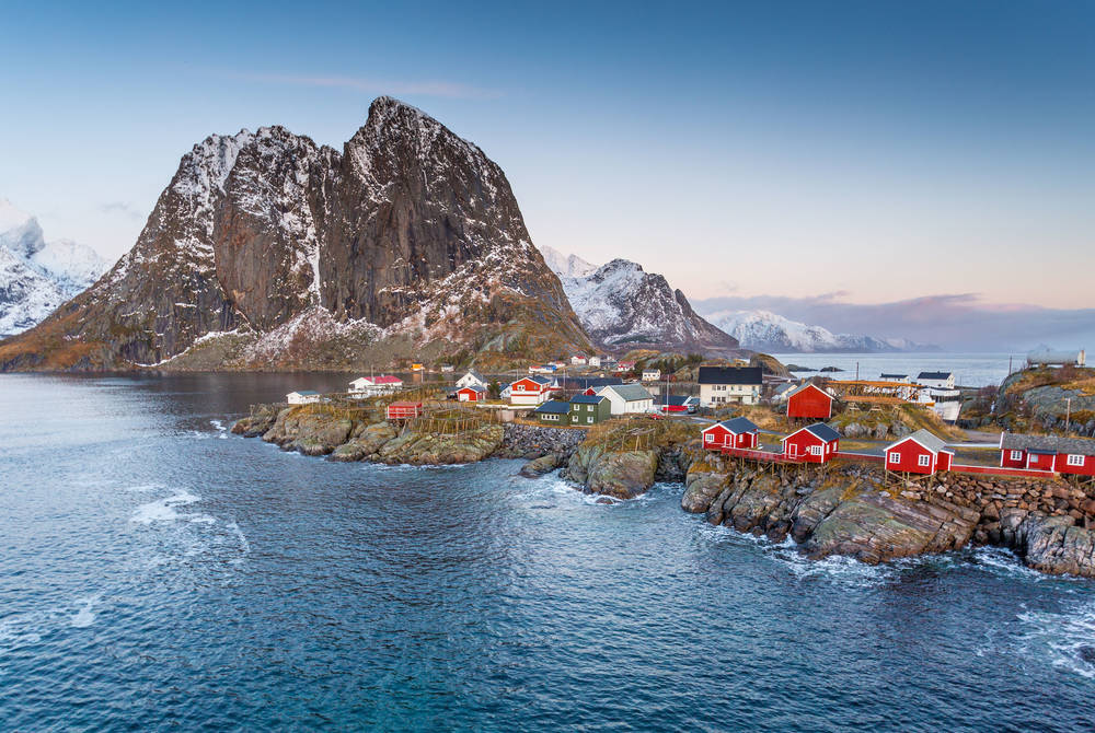 Eliassen Rorbuer, the Lofoten Islands