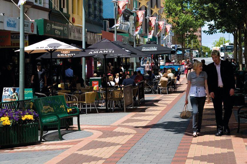 Elizabeth Street Mall, Hobart, Tasmania