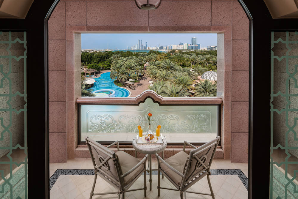 Pearl Room Balcony, Emirates Palace, Abu Dhabi