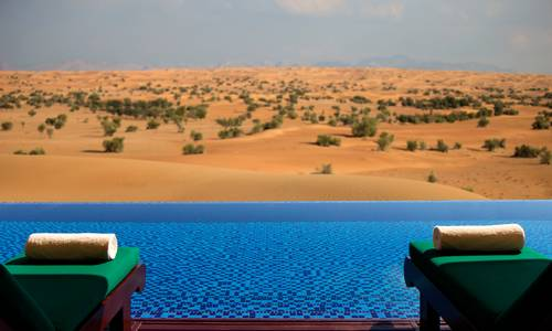 Emirates Suite Pool, The Al Maha Desert Resort, Dubai