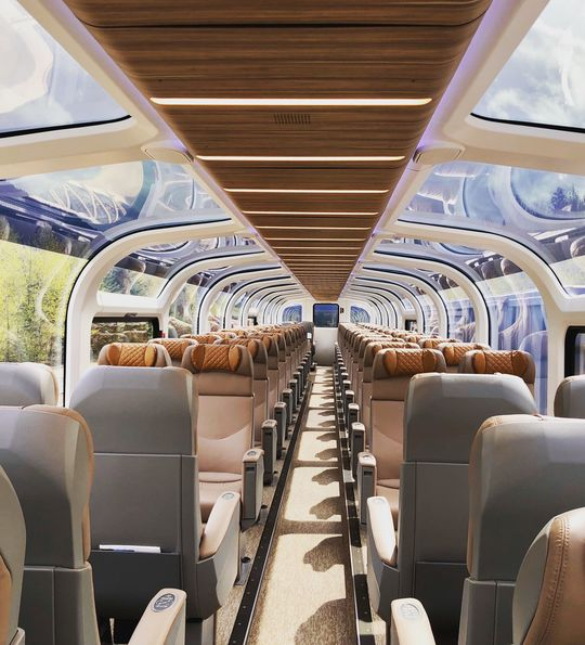 Rocky Mountaineer GoldLeaf