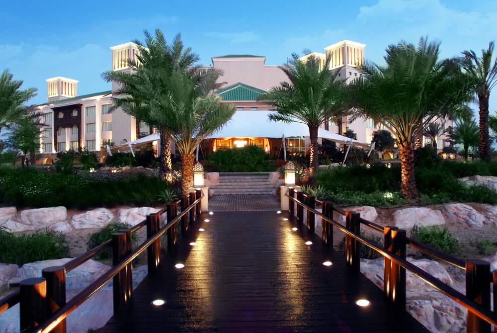 Entrance, Anantara Desert Islands Resort & Spa