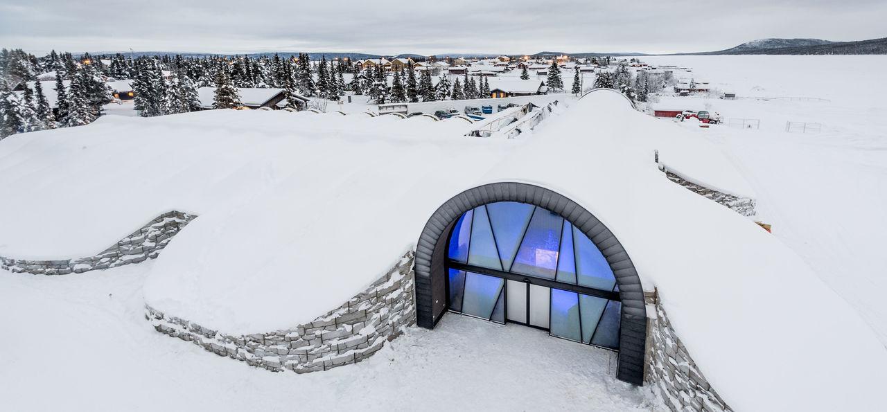 ICEHOTEL 365, entrance (Credit: Asaf Kliger)