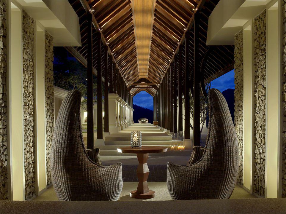 Entrance Walkway, Pangkor Laut Resort, Malaysia