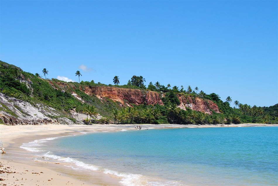 Espelhio Beach, Bahia