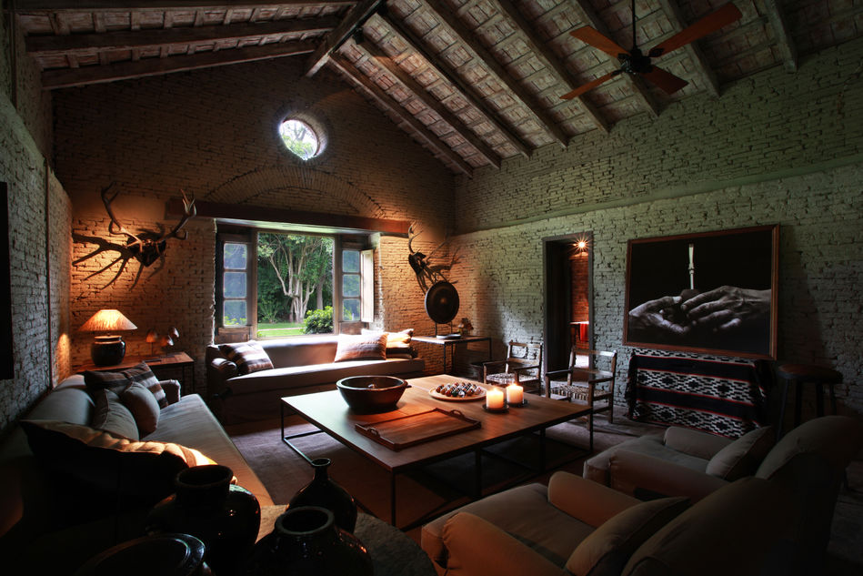 Typical interior of an Argentine Estancia