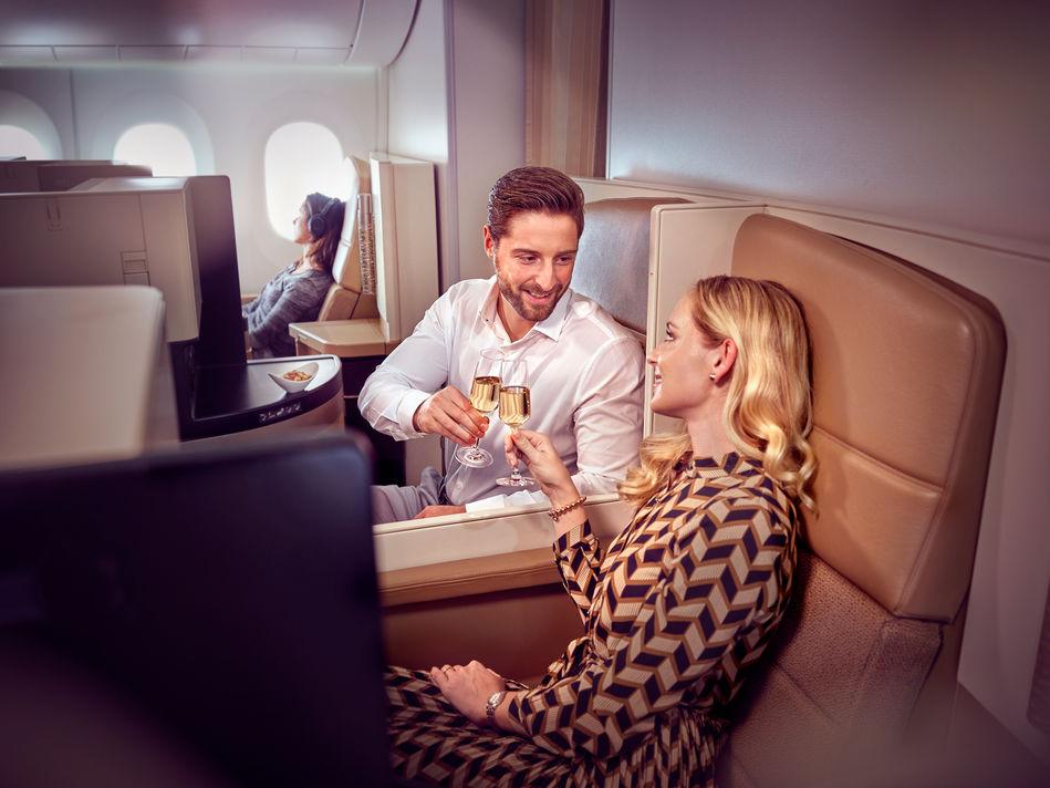 Business Class on Etihad Airways