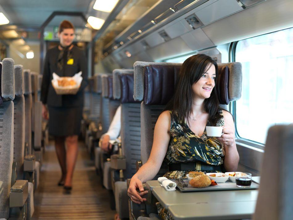 Eurostar Dining