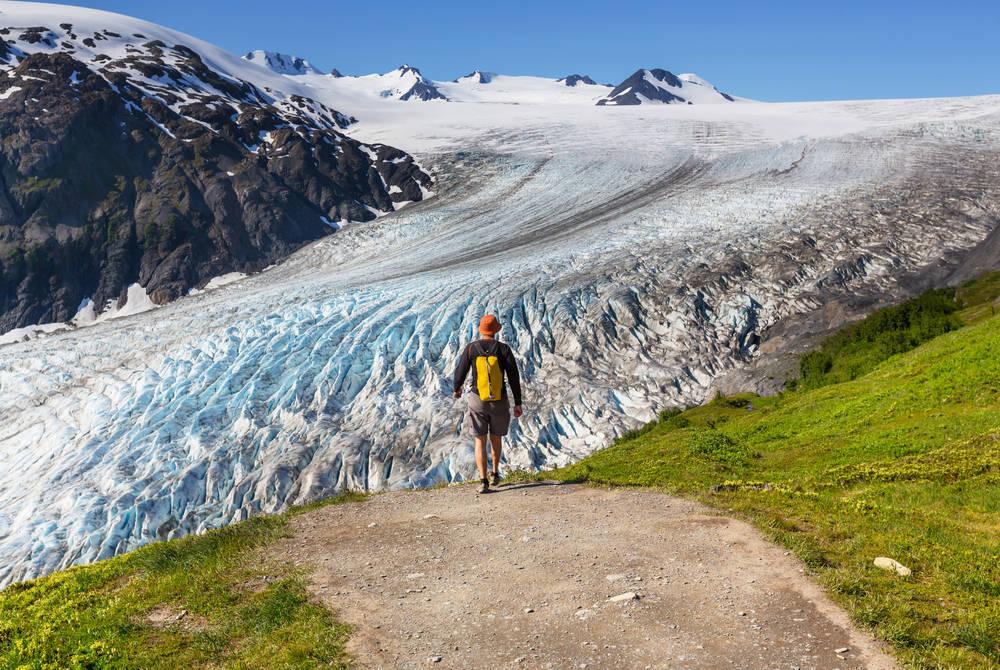 Exit Glacier, Kenai Fjords National Park, Seward
