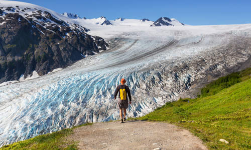 Exit Glacier, Kenai Fjords National Park