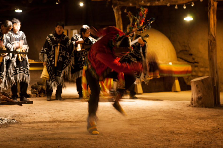 Traditional dancing, explora Atacama