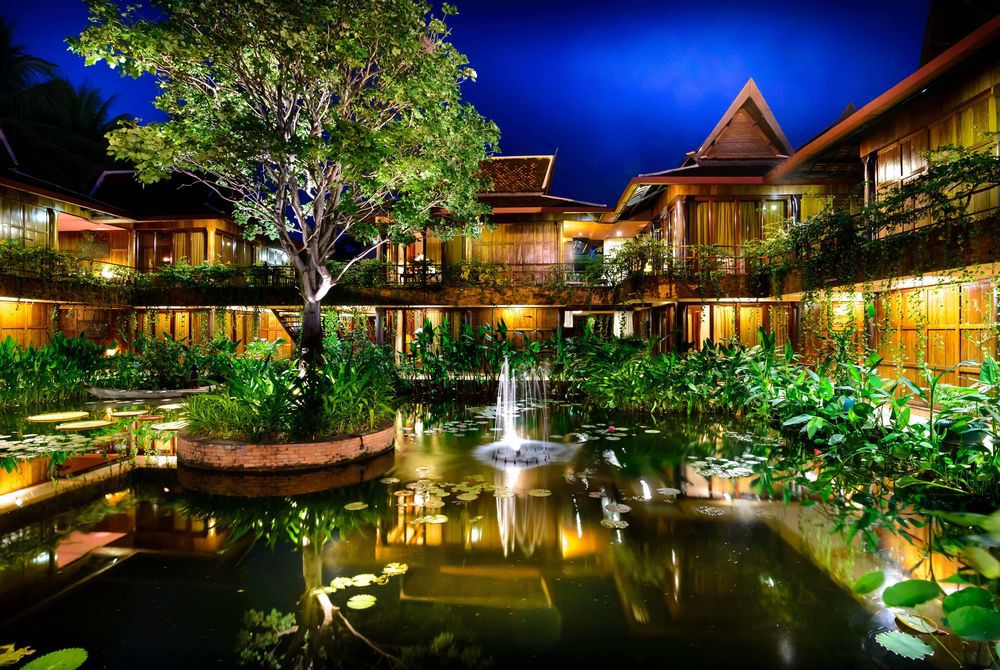 Exterior, Angkor Village, Cambodia