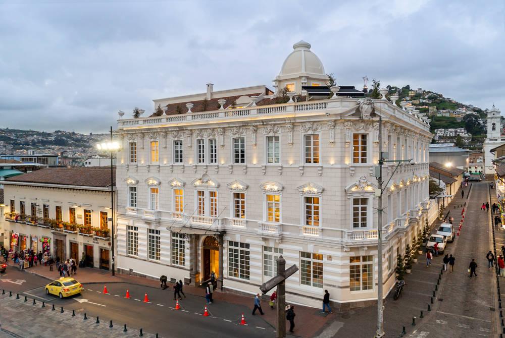 Exterior, Casa Gangotena, Quito, Ecuador