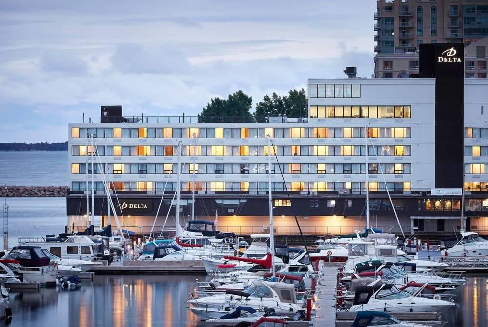Exterior, Delta Kingston Waterfront, Kingston, Ontario, Canada