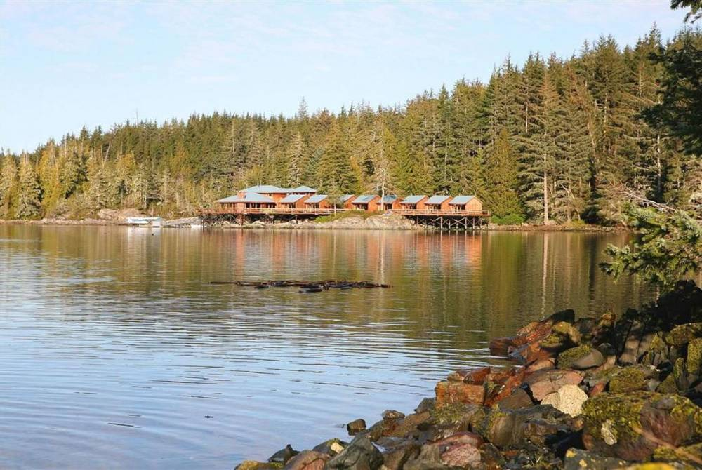 Exterior, Farewell Harbour Lodge, Berry Island