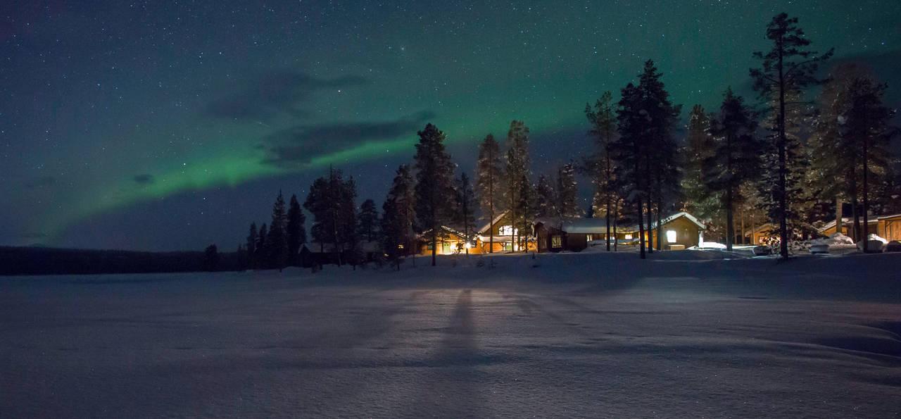 Exterior, Fjellborg Arctic Lodge, Lapland, Sweden
