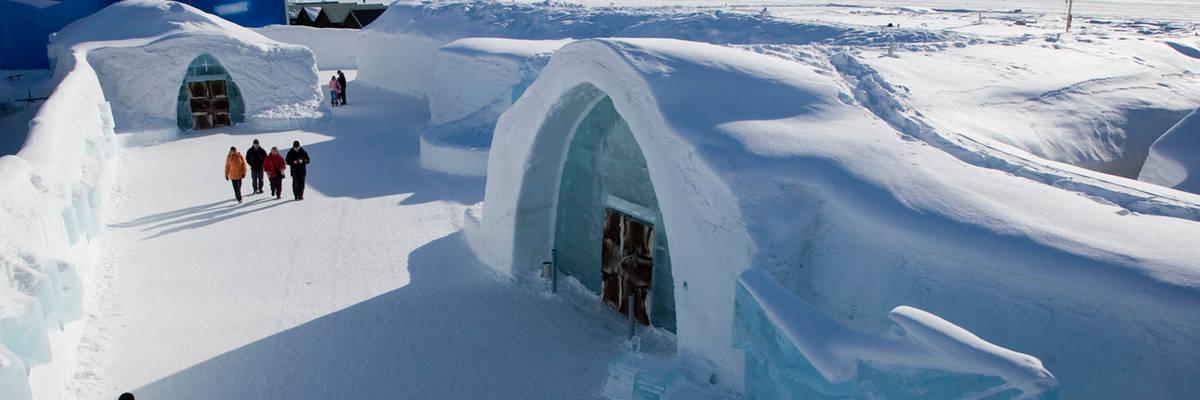 Scandinavia's best ice hotels