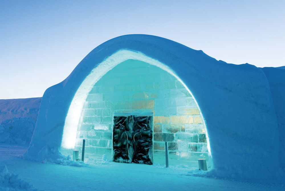 Exterior, Ice Hotel, Sweden