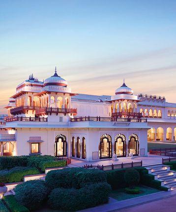 Exterior, Rambagh Palace, Rajasthan