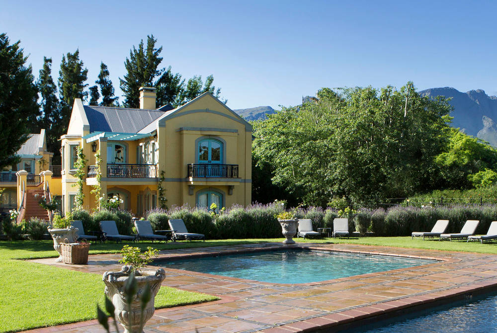 Pool, Franschhoek Country House