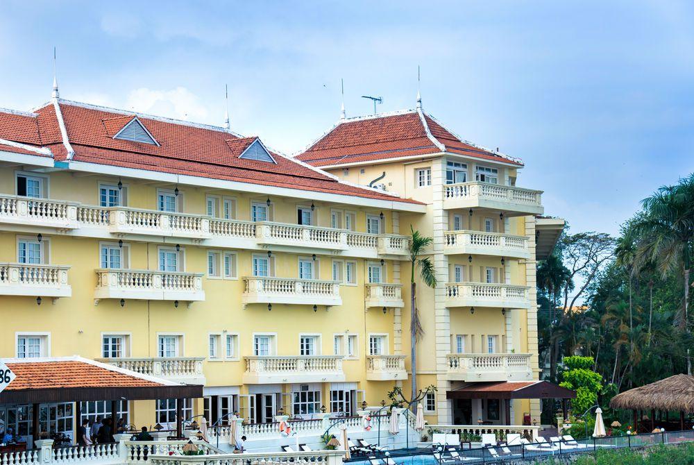 Facade, Victoria Chau Doc Hotel, Chau Doc, Vietnam