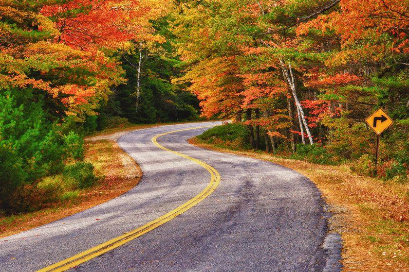 Fall, Maine