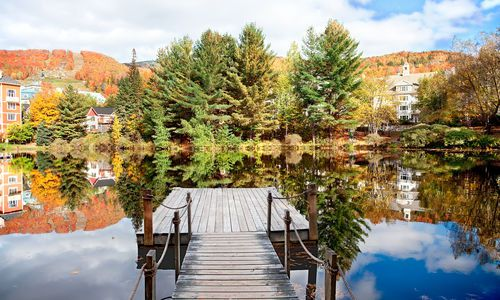 Fall season in Mont Tremblant, Quebec
