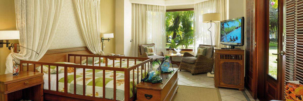Family Suite, Dinarobin Hotel Golf & Spa, Mauritius
