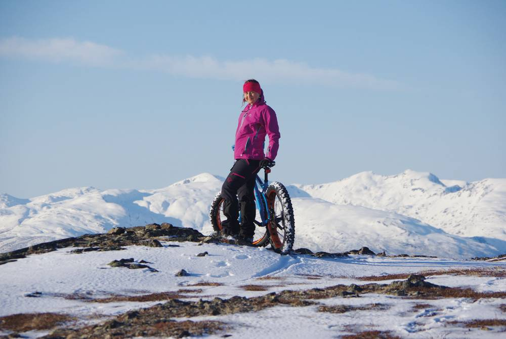 Fat Bike fun at Malangen