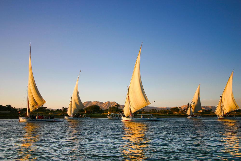 Felucca, Nile