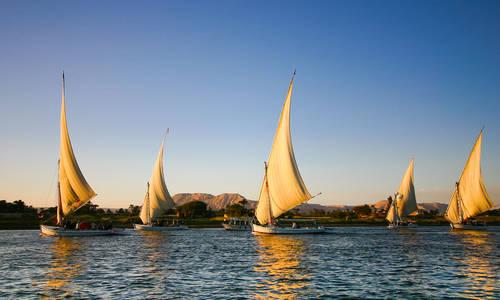 Felucca, Nile, Egypt