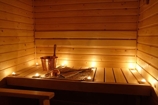 Picture of a traditional Finnish Sauna