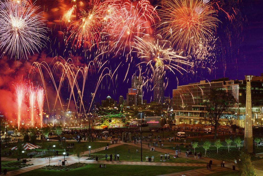 Fireworks, Atlanta, Georgia
