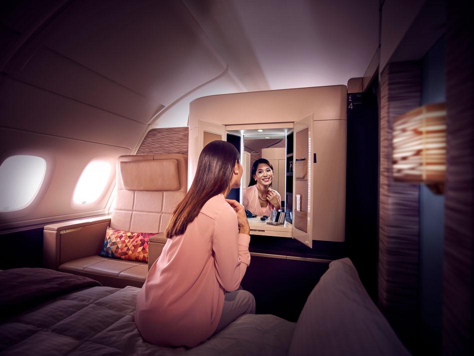 First Class on Etihad Airways