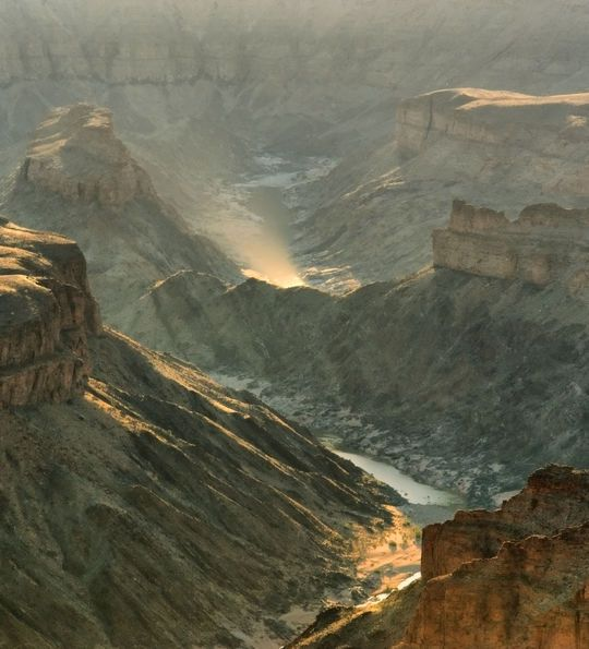 Fish River Canyon in Namibia's south