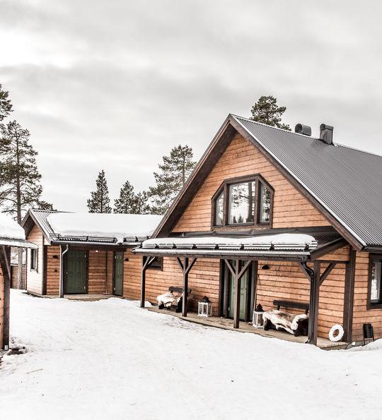 Exterior, Fjellborg Arctic Lodge