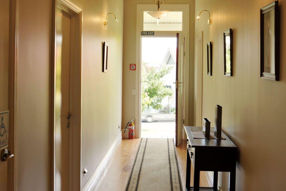 Flagstaff Lodge hallway, New Zealand