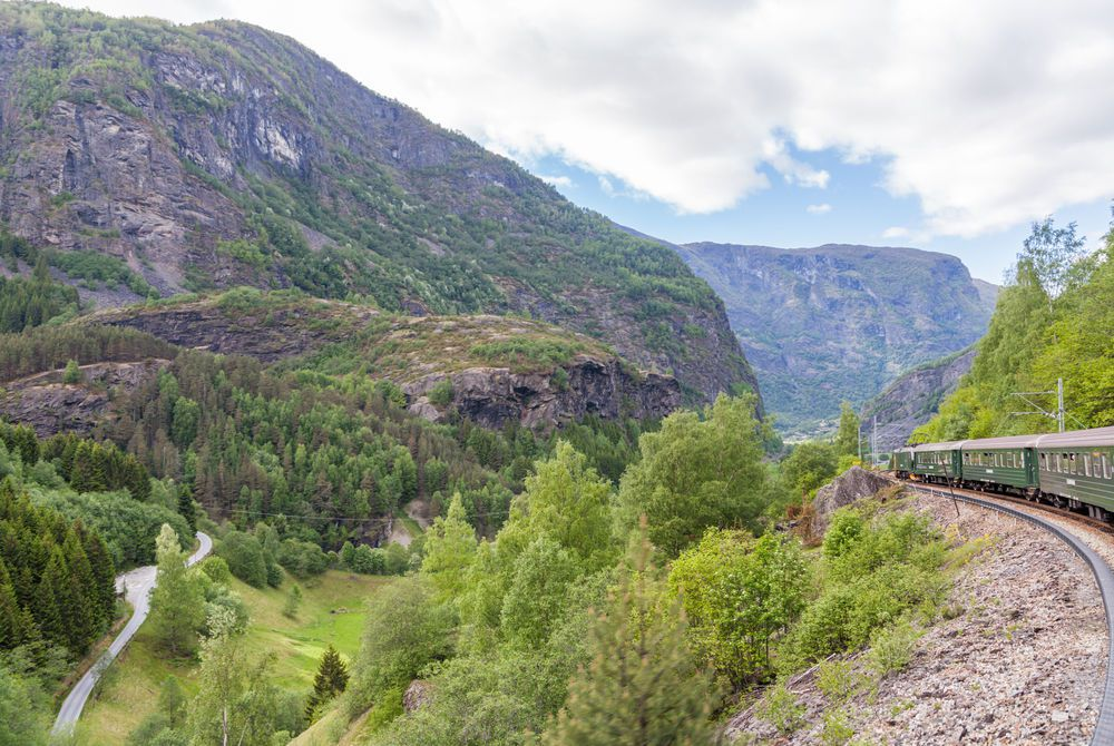 Flam Mountain Railway, Norway