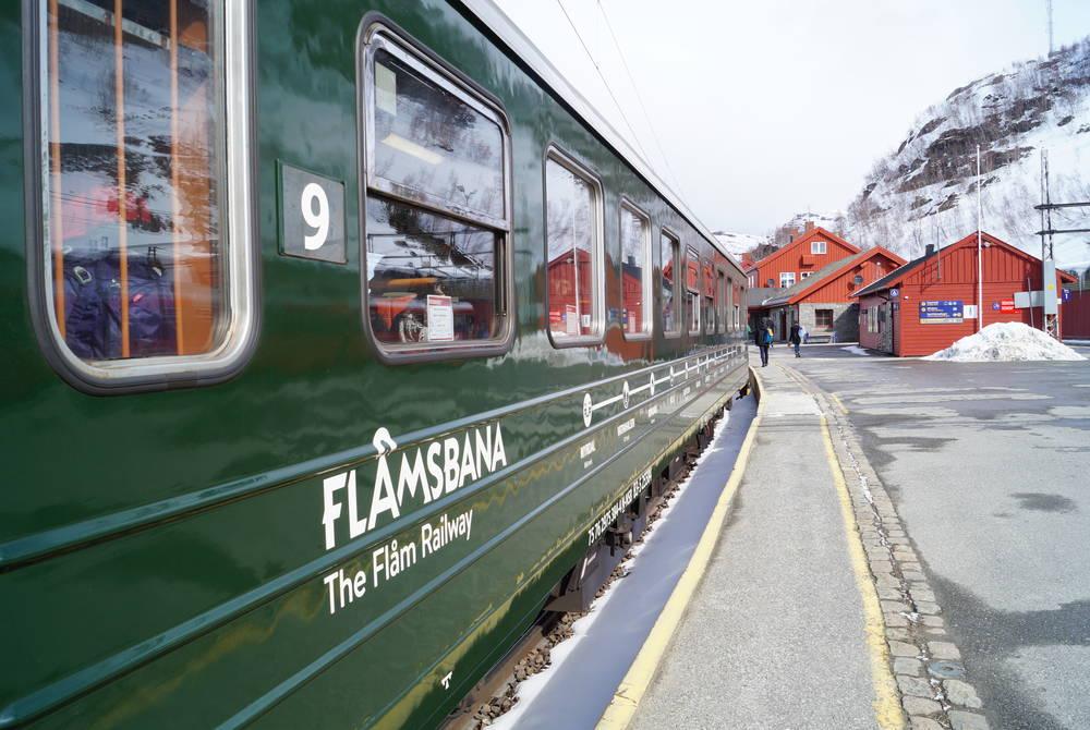 Flam Railway in winter