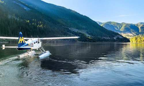 Bowen Island Float plane