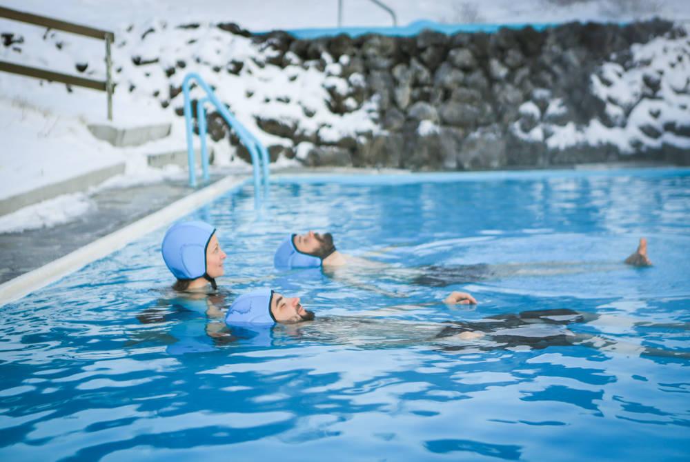 Floating Geothermal Baths, Hotel Húsafell