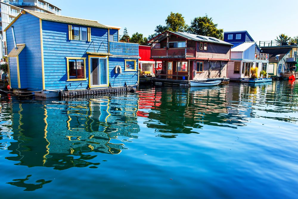 Floating Home, Victoria, British Columbia, Canada