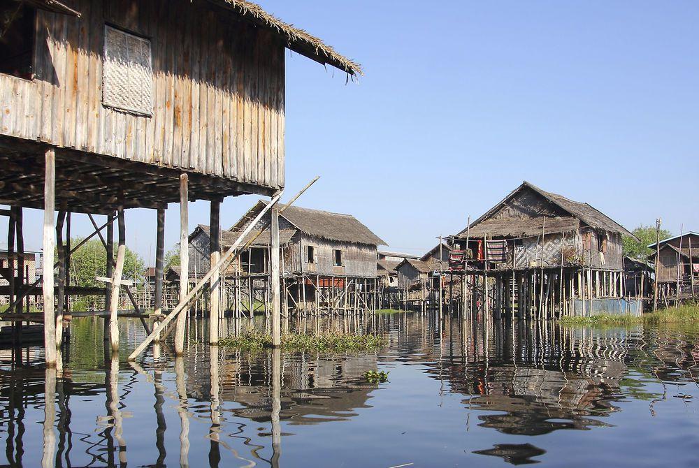 Floating Village, Inle Lake, Burma