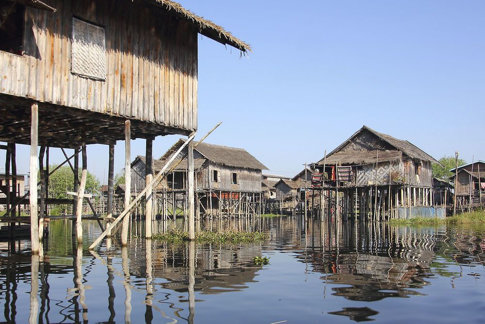 Floating Village, Inle Lake, Burma