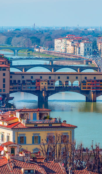 The Ponte Vecchio and River Arno, Florence